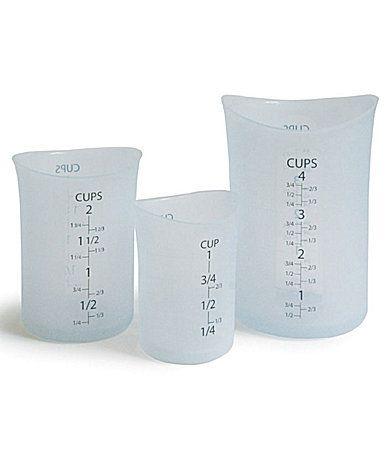 "ISI ""Flex-It"" Silicone Measuring Cups   Dillards.com"