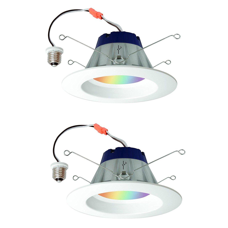 Sylvania Lightify 65w Led Smart Home 2700 6500k Color White Light Bulb 2 Pack Amazon Com Smart Light Bulbs Led Light Bulb White Light Bulbs