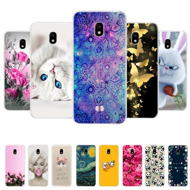 Soft TPU Case For Samsung Galaxy J3 2017 Case Silicone Coque for ...