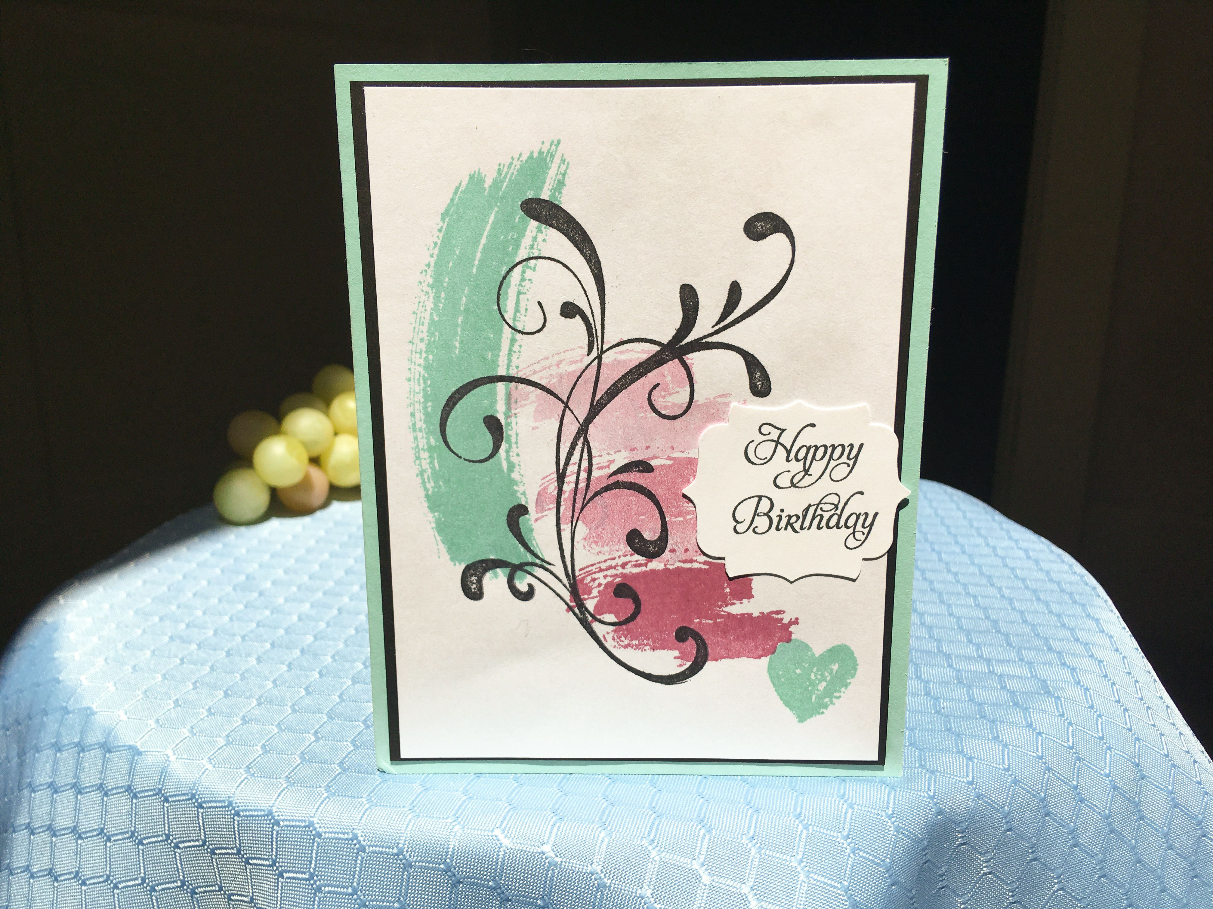 Happy Birthday Card Happy Birthday Cards Birthday Cards Greeting Cards Handmade