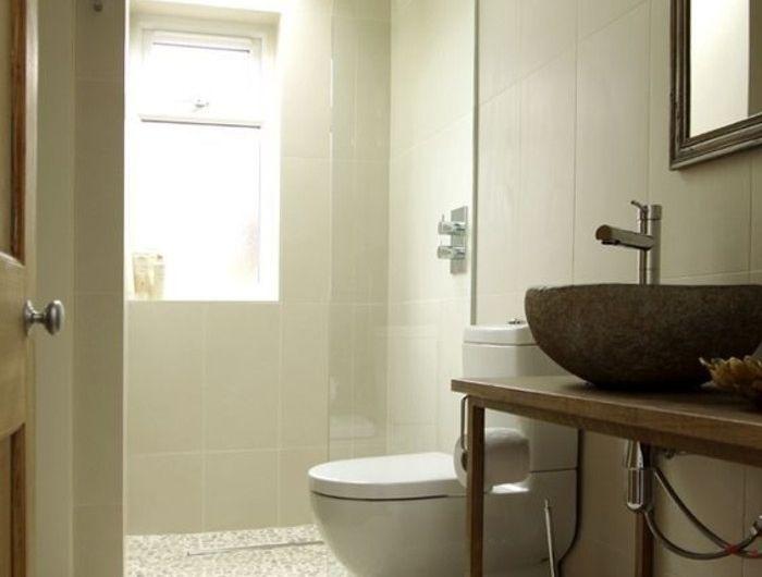 Le carrelage galet, pratique revêtement pour la salle de bain! Sdb