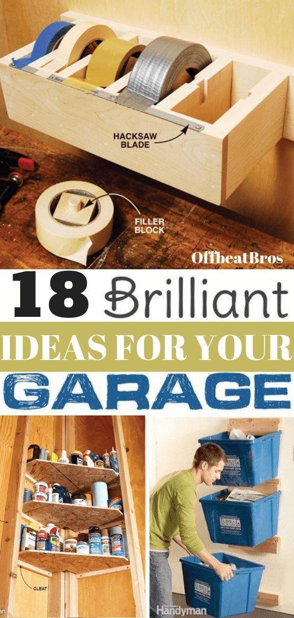 Photo of 18 Genius Garage Organization Ideas You Must Know – decordiyhome.com/best