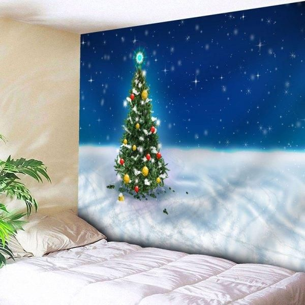 RoseWholesale - #Rosewholesale Christmas Tree Wall Art Bedroom