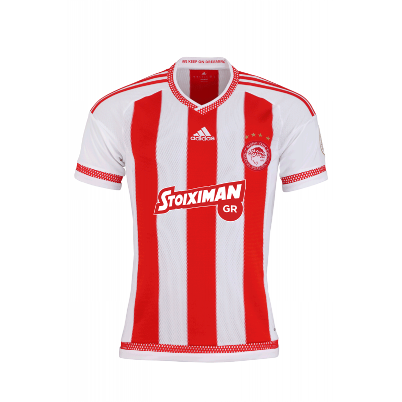 Olympiacos Adidas home jersey 2015-2016 Dominquez
