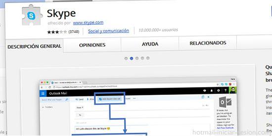 Ya puedes integrar enlaces de llamadas en tweets, eventos de calendario y correos en Skype desde Chorme
