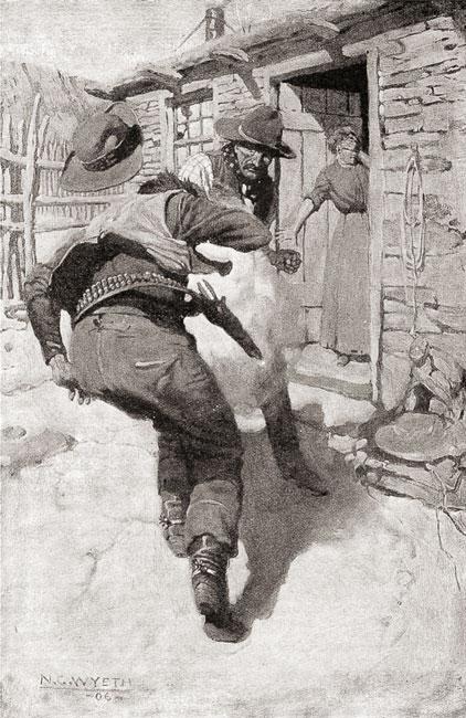 Стрелки Дикого Запада — шерифы, бандиты, ковбои, «ганфайтеры» (fb2)    Флибуста   Ковбой искусство, Дикие, Вестерн