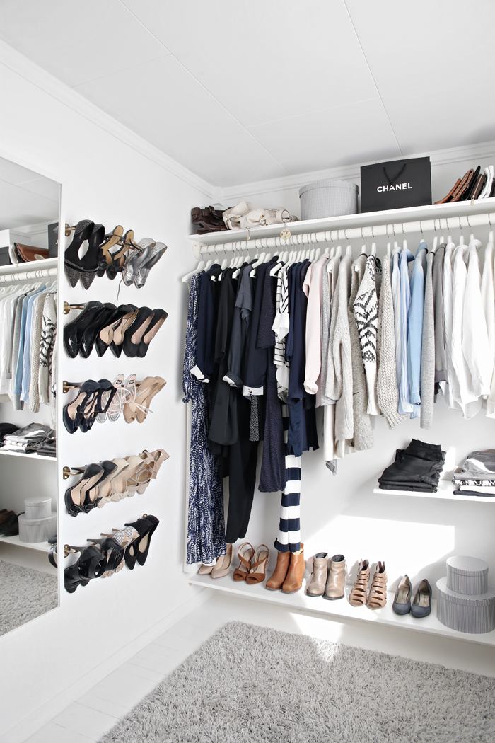 10 tricks that squeeze every inch out of a small closet shoe rackscloset