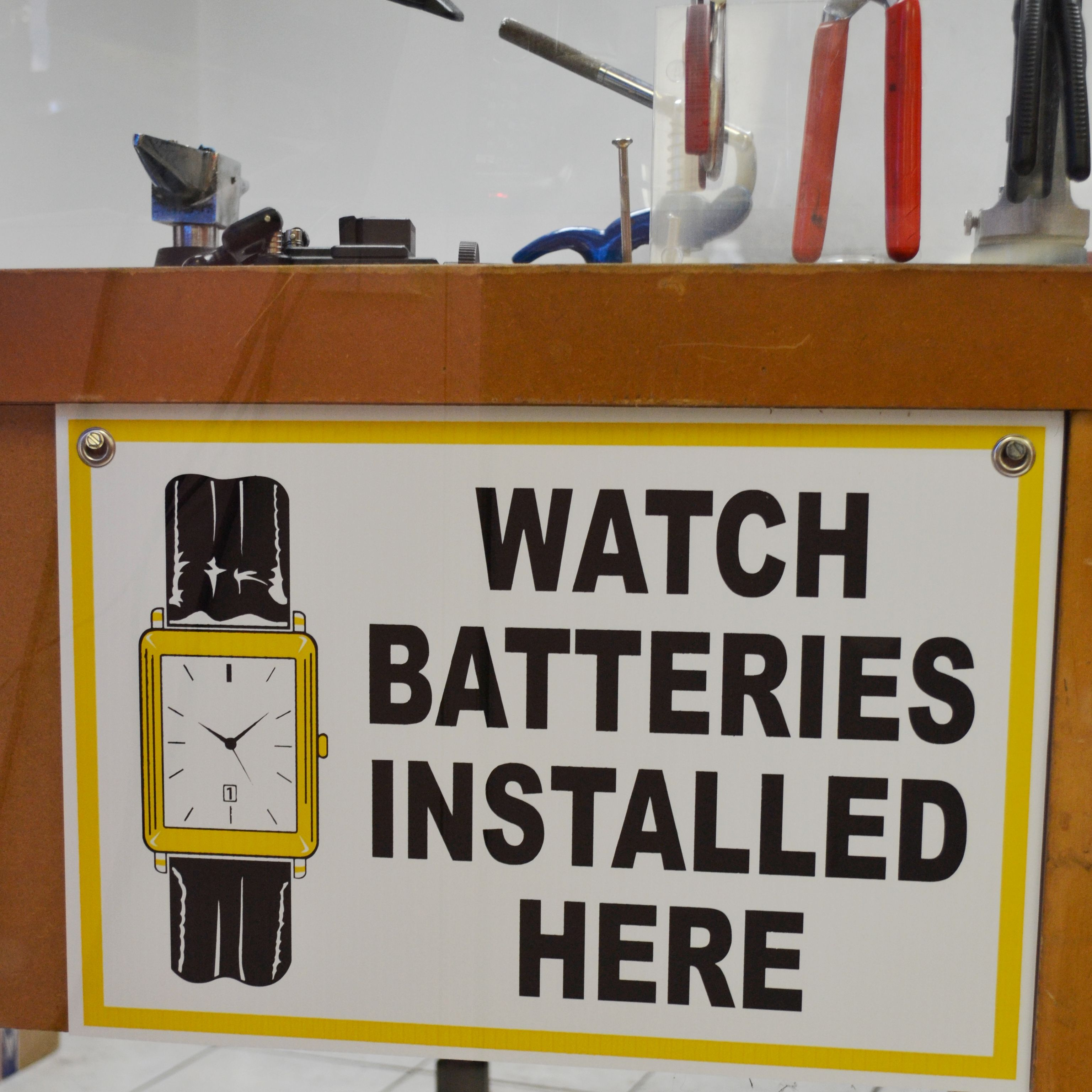 We Install Watch Batteries In A Few Minutes Come By And Get Your Watches Working Again Watch Battery Installation Jewelry Repair