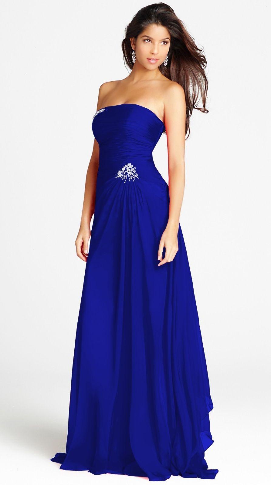 Royal blue prom dress royalbluepromdressdesign like a