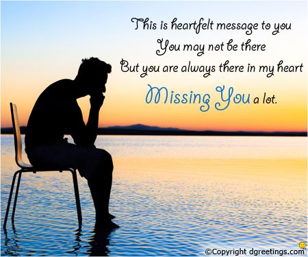 Miss you sweetheart  | Miss You Cards | Missing you love