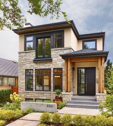 Desain Rumah Minimalis Type 45 2 Lantai Rumah In 2018 Pinterest