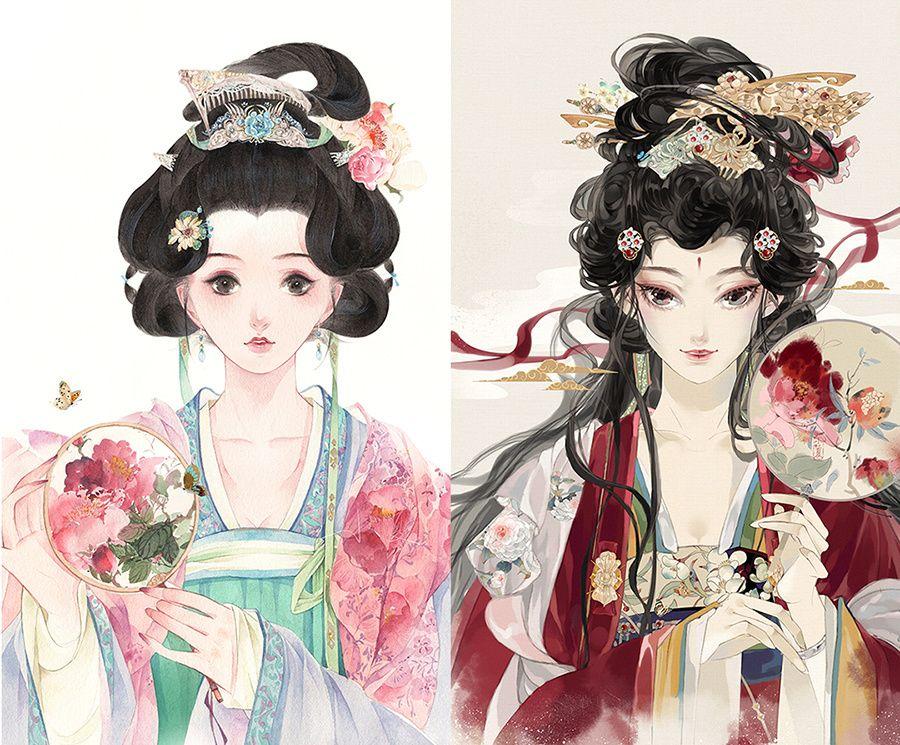 Ghim của Kỳ Nhã Thanh trên Cổ Phong Nghệ thuật ảo ảnh