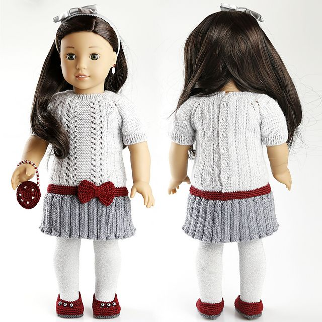 Ravelry: cataddict\'s gifts around the Christmas tree FREEBIE dress ...