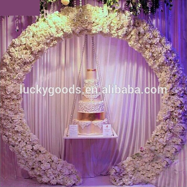 Hot Sale Fancy Metal Garden Wedding Arch For Wedding And Event Decoration