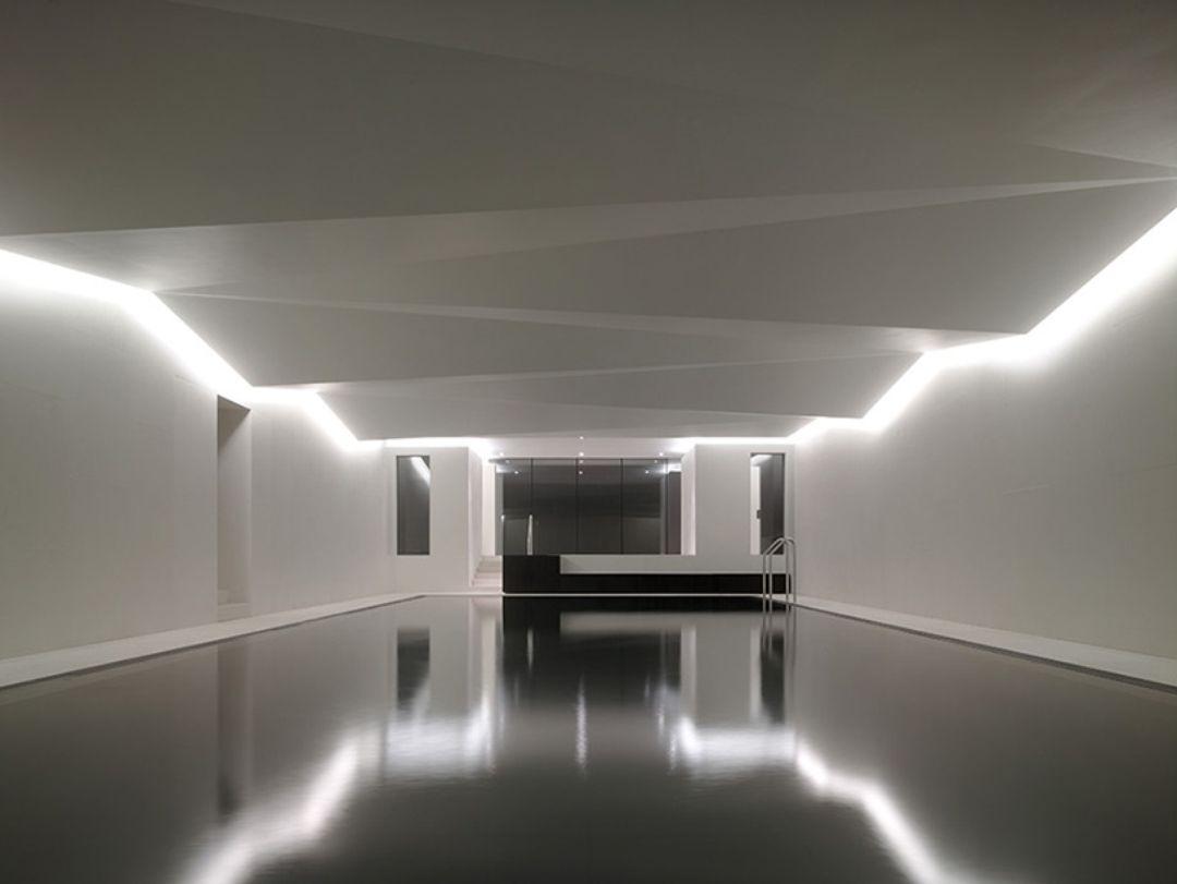 Underground Spa Carmody Groarke Architectural Lighting Design Interior Lighting Light