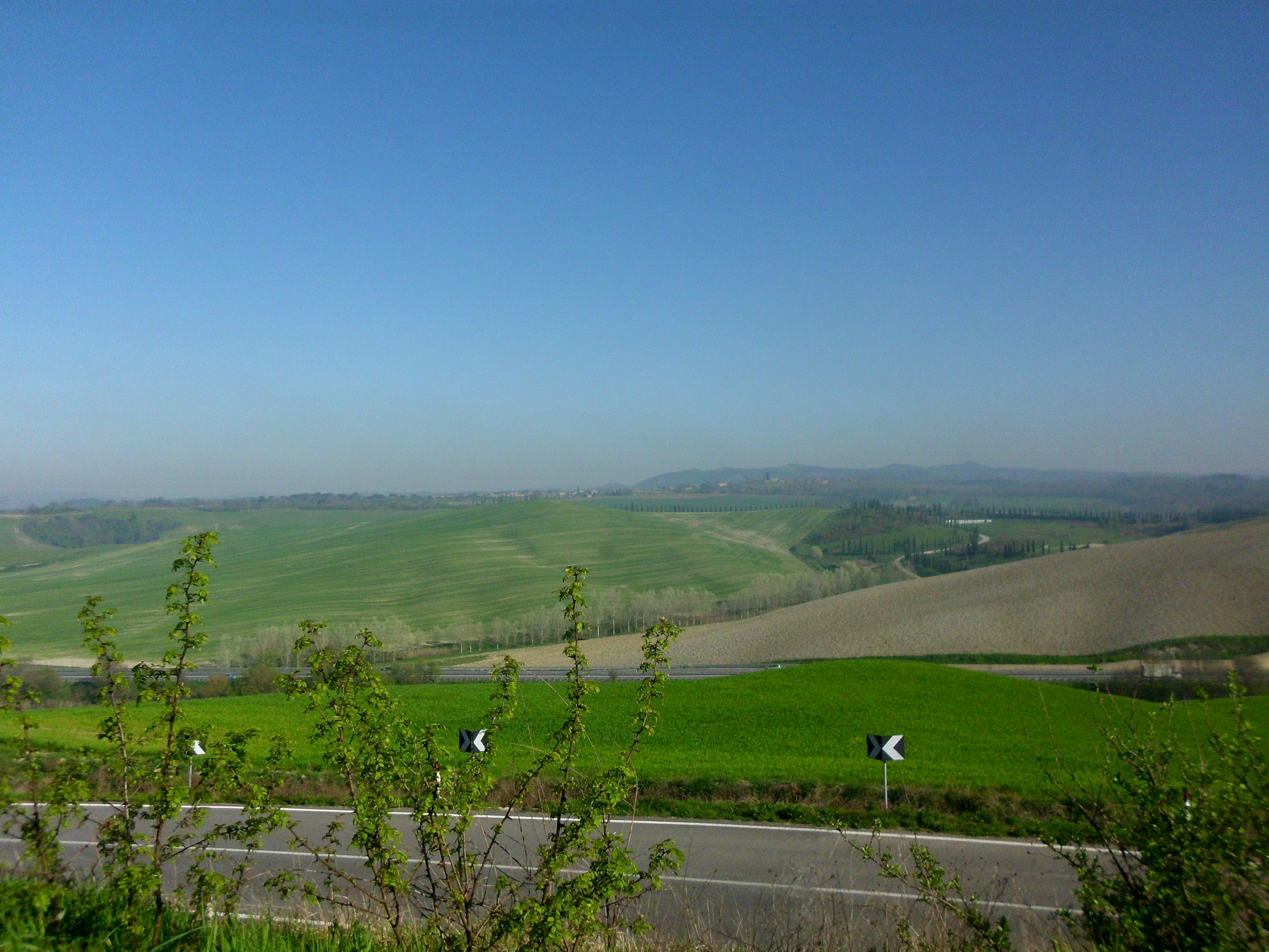 Tuscan countryside....breathtaking.