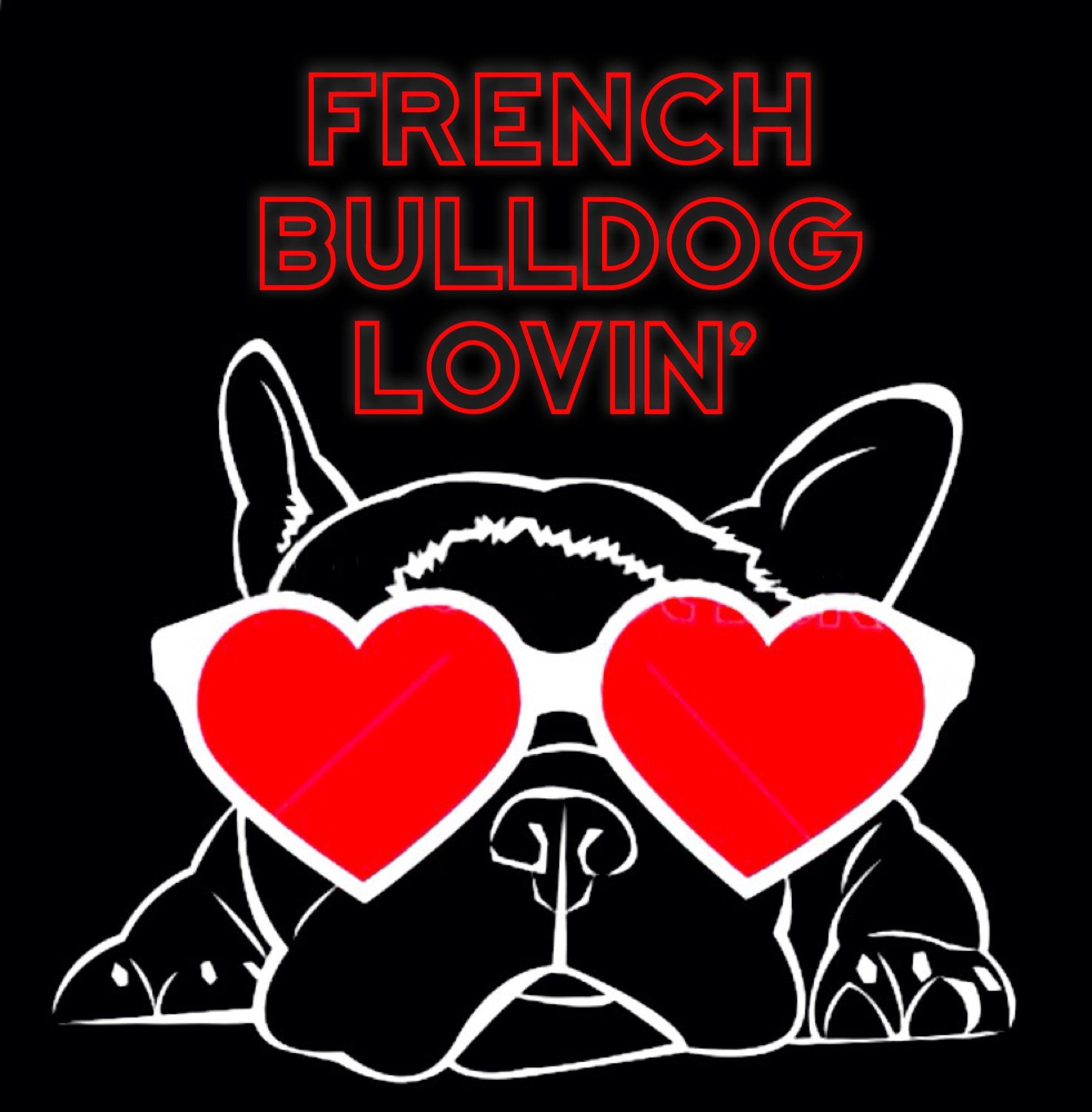 French Bulldog Lovin Illustration For Valentines Day French Bulldog Art Cute French Bulldog French Bulldog Puppies
