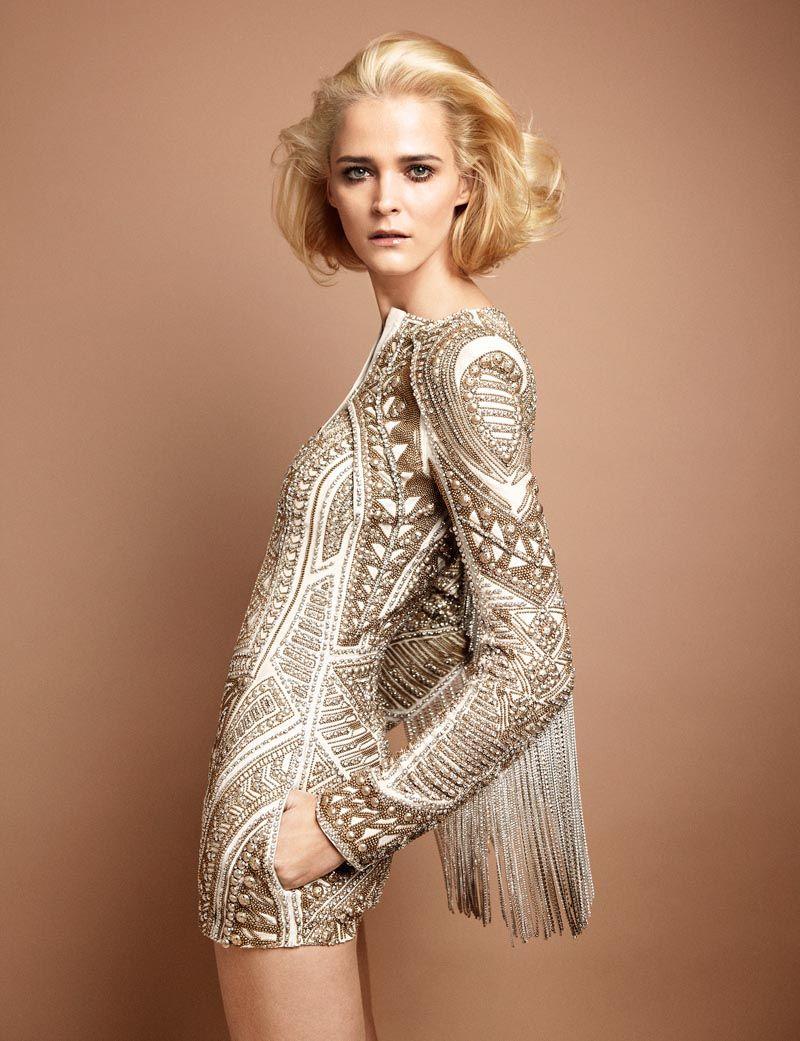 Carmen Kass for 25 Magazine av Yelena Yemchuk