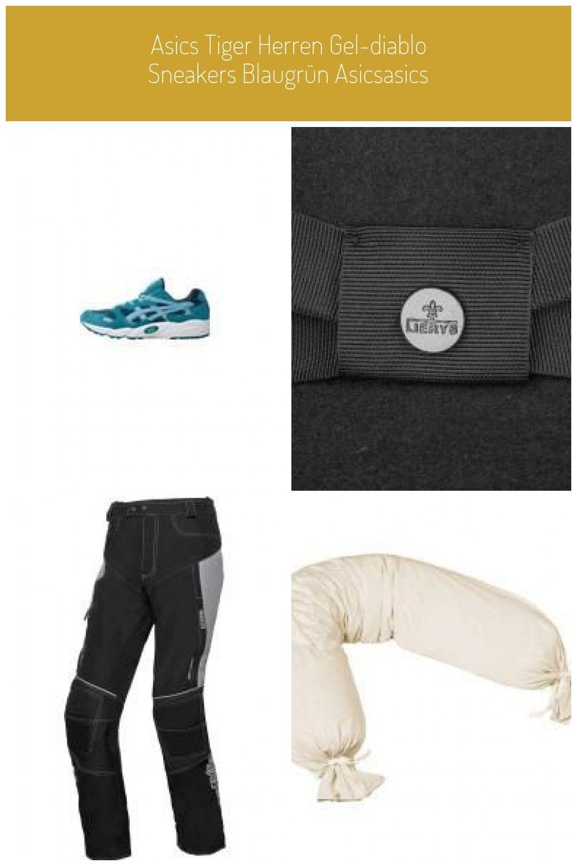 Asics Tiger Herren Gel diablo Sneakers Blaugrün AsicsAsics