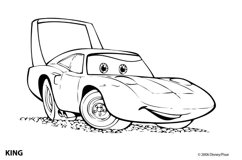 coloring pages  Cars Coloring Pages  Coloring pages  Pinterest