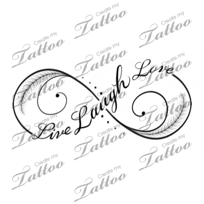 Live Laugh Love Infinity Tattoo Third 182699 Infinity Tattoos Tattoos Friendship Tattoos
