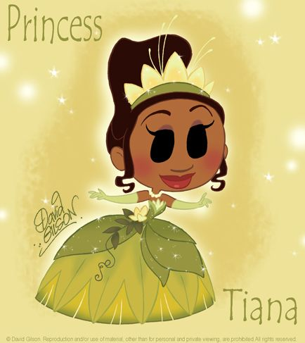 Chibie Tiana Water Lily Dress by *princekido on deviantART