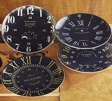 New Year S Eve Quot Clock Quot Salad Plates Set Of 4 From