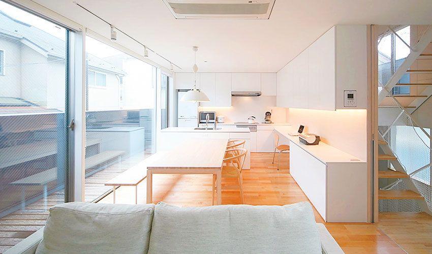 光と風が取り込まれた心地よい家の間取り プランニング実例 家