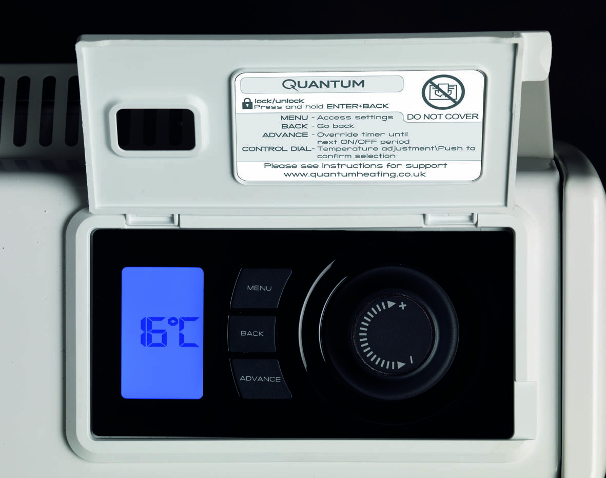 The Culmination Of 3 Years R D Is The Dimplex Iq Heating System Or Quantum In The Uk The Iq Provides Low Cost Low Carbon Elec Heating Systems Time Timer Energy Use