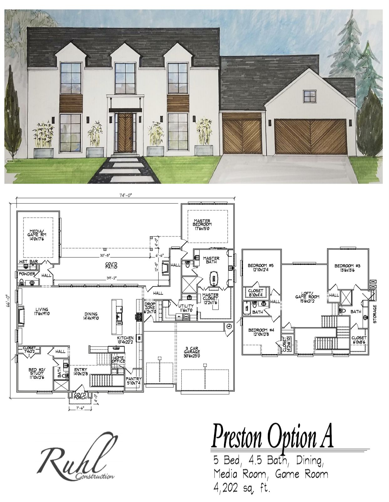 Ruhl Construction Floor Plans Tulsa s Most Trusted Home Builders