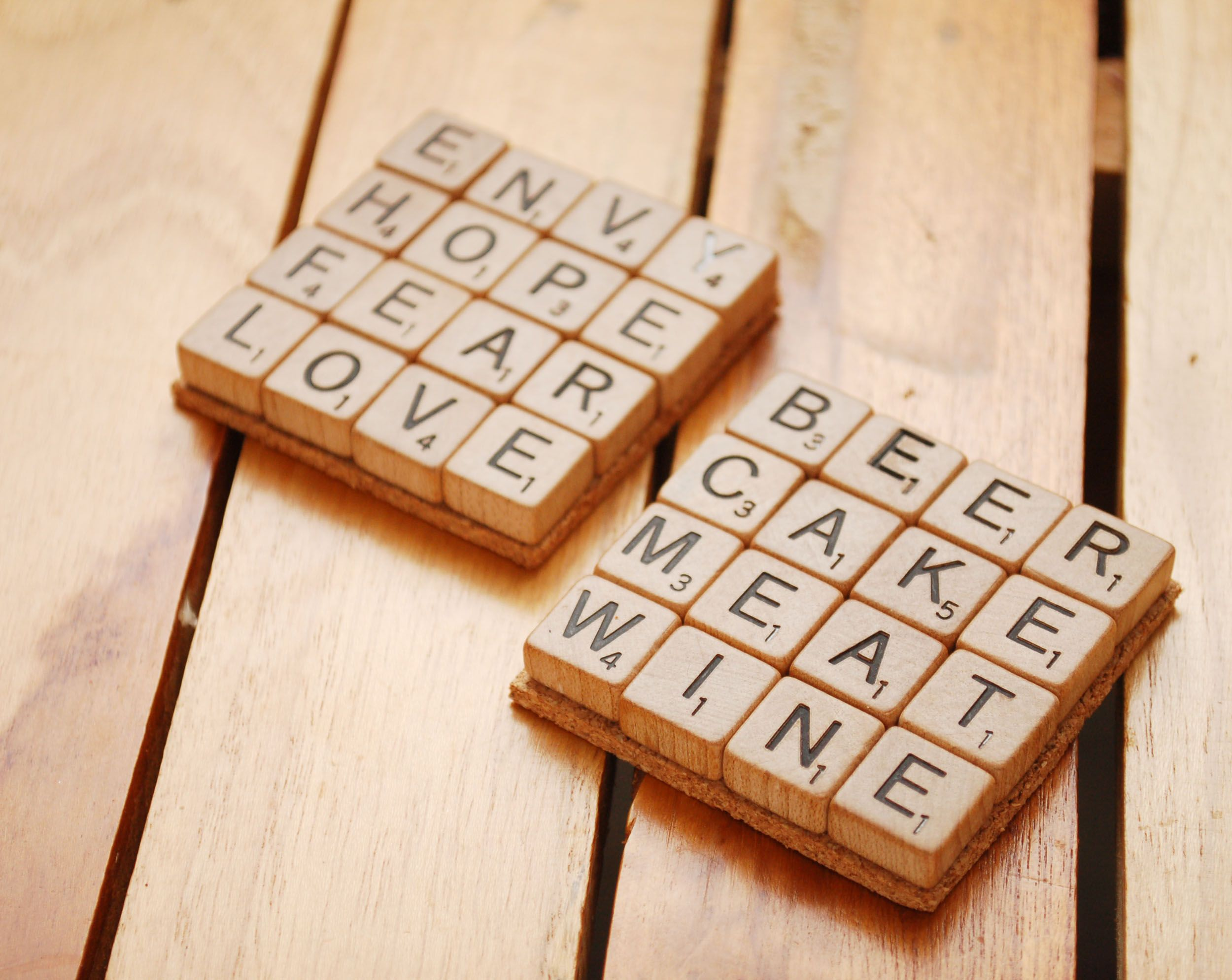 Make Scrabble Tile Coasters | wikiHow to Play Games ...
