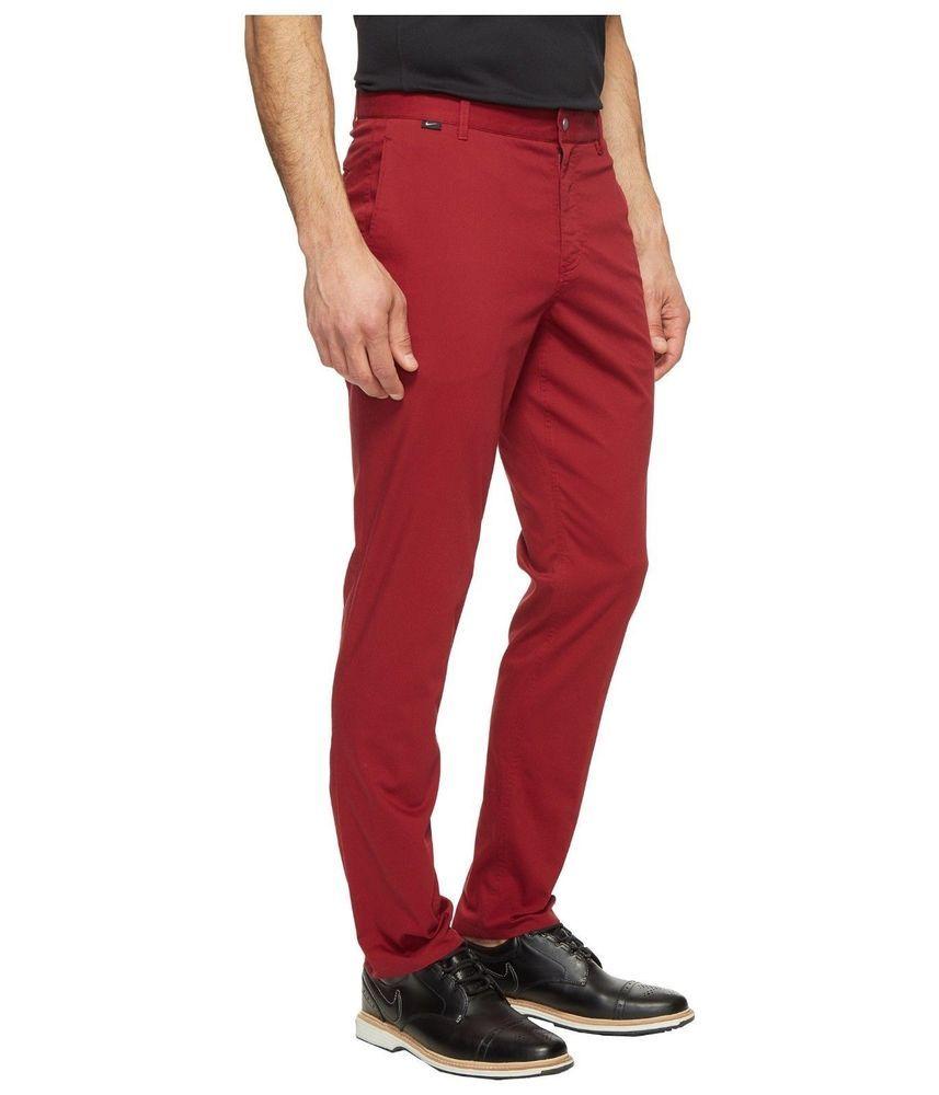 Nike golf pants modern fit washed pant dri fit 725672 677