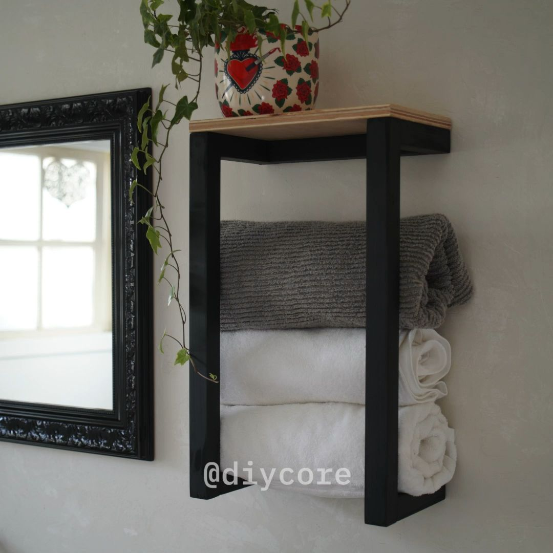 Photo of DIY – Porta toalhas SUPER FÁCIL