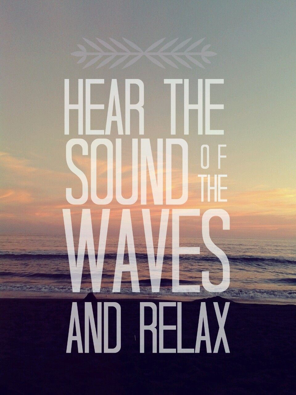 Hear The Sound Of The Waves And Relax Vacation Inspiration Beach