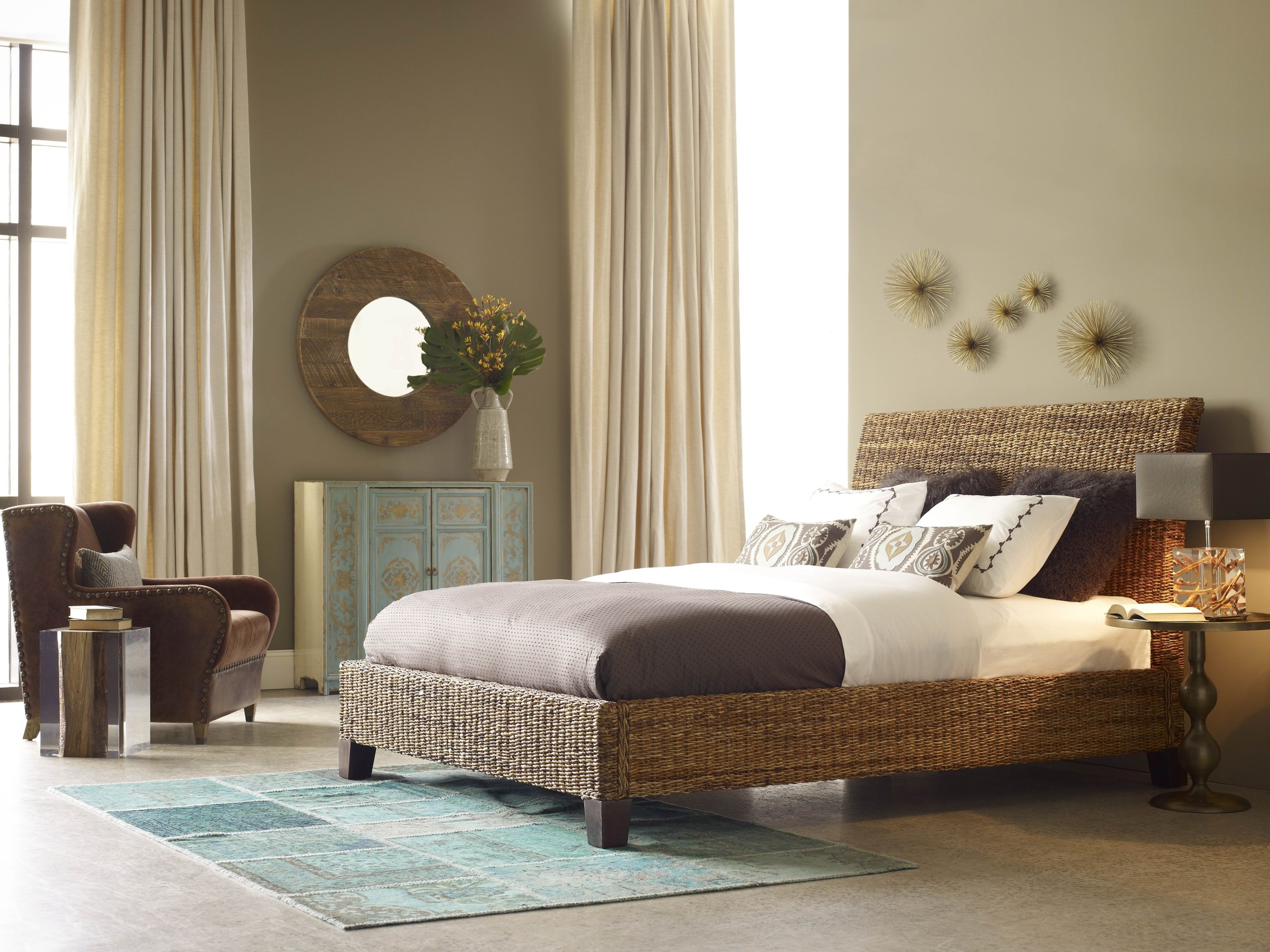 Seagrass beds furniture - Four Hands Seagrass Bed Available At Www Gardiners Com