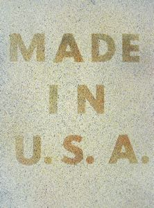 """Currier Collections Online - """"America Her Best Product"""" by Edward Ruscha"""