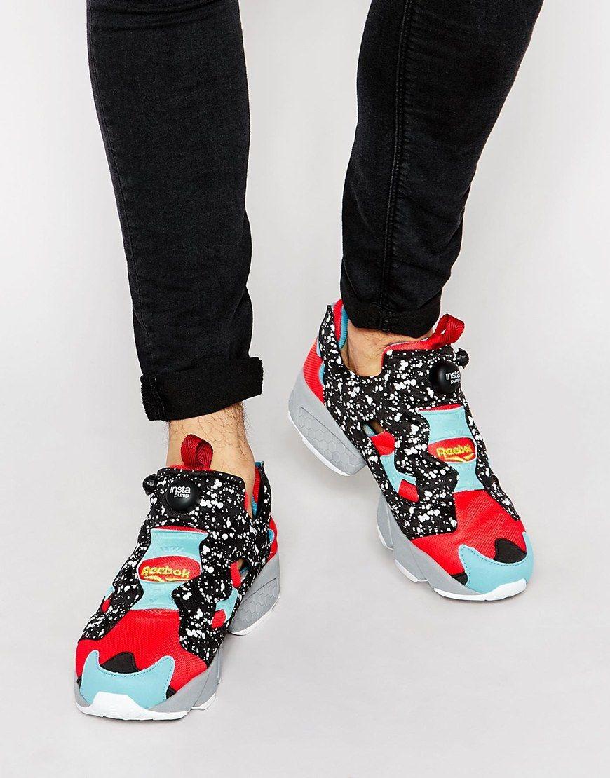 Buy Men Shoes / Reebok Instapump Fury Speckle Trainer