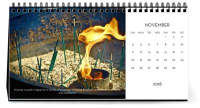 november 2018 calendar japan
