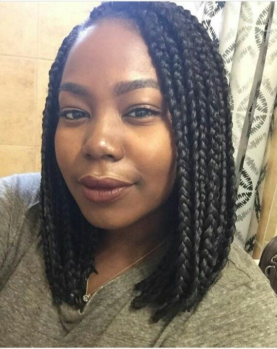 I Just Was Someing Cute Simple Easy Box Braids Styling