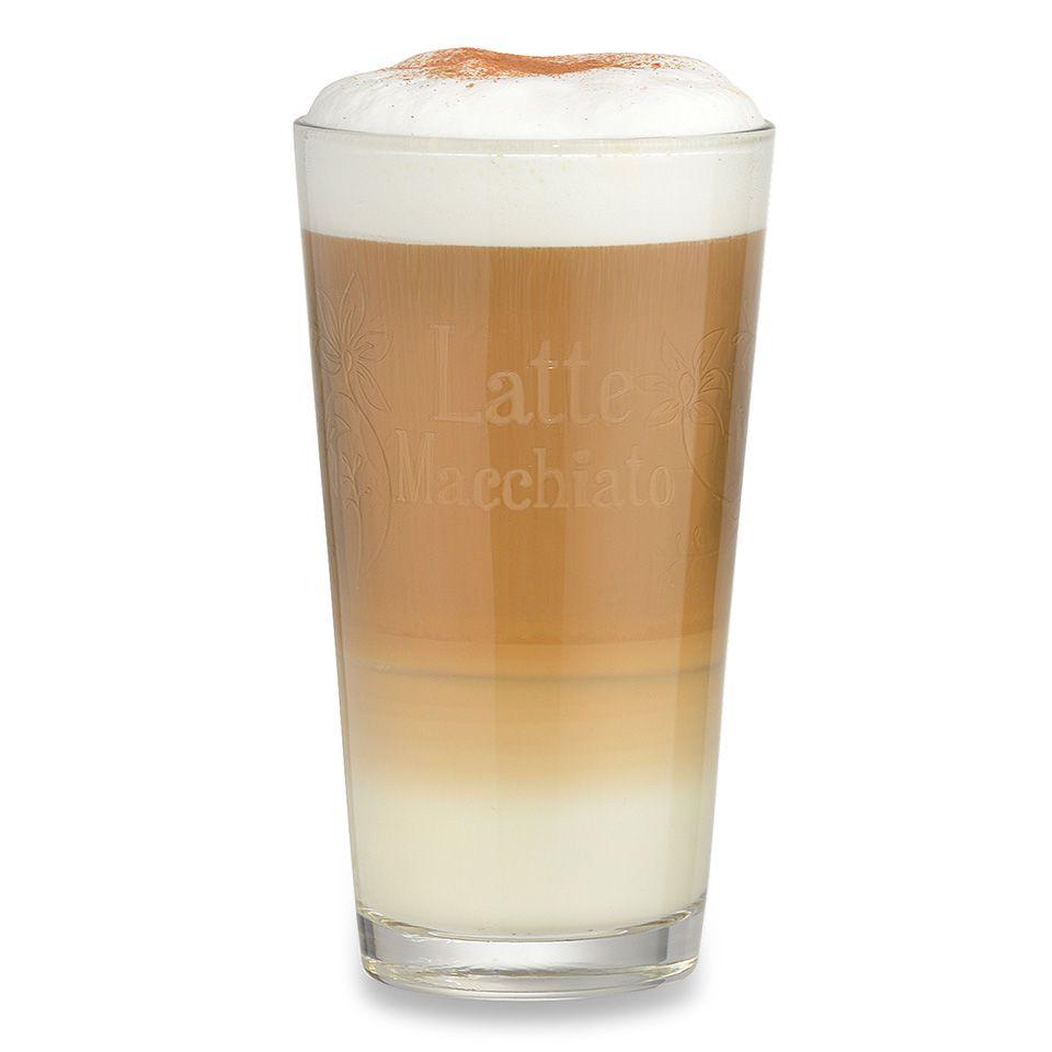 Latte Macchiato Glas ❤️