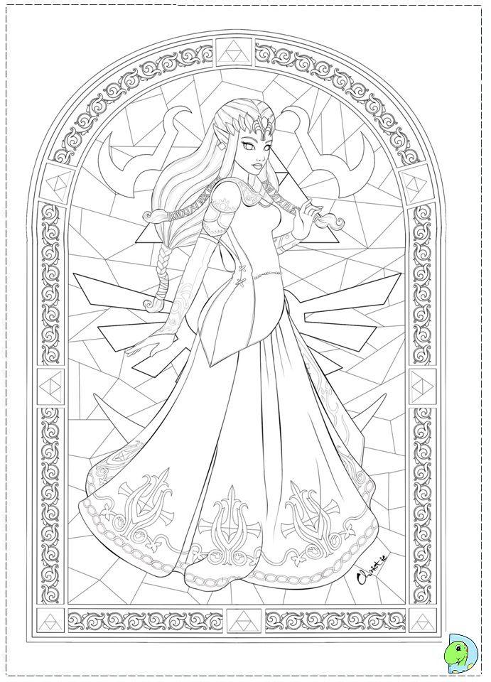 Pin By Stephanie Olfs On Coloriage Zelda Coloring Pages Coloring Books Cool Coloring Pages