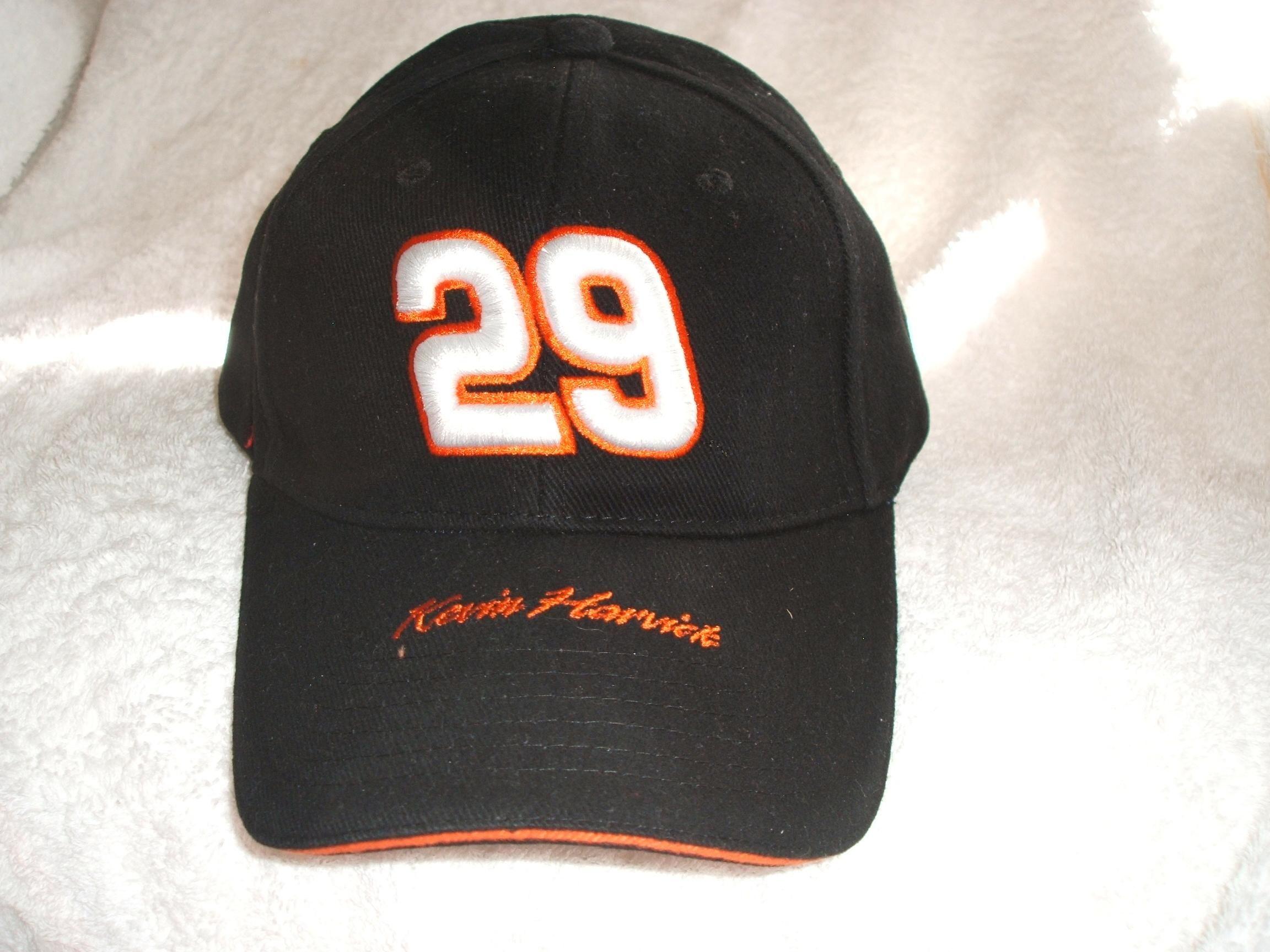 4e85c05c4 Kevin Harvick #29 Goodwrench Black new ball cap: Kevin Harvick, #29 ...