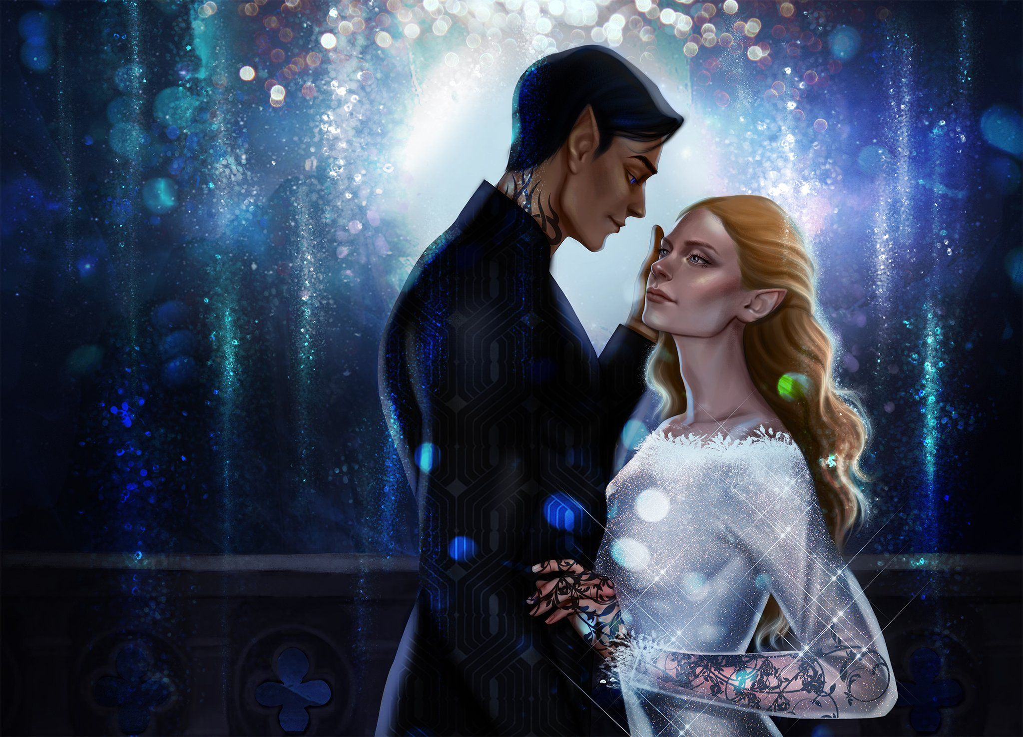 Rhys And Feyre At Starfall By 13nakahara13 On Twitter A Court
