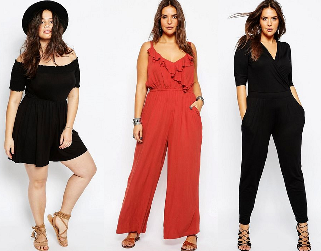 4ec82c064d3 Shapely Chic Sheri - Curvy Fashion and Style Blog  15 Plus-Size Jumpsuits Rompers  for Summer