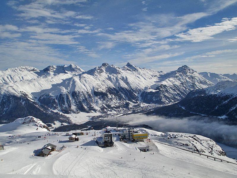 St. Moritz (Kanton Graubünden) -Corviglia (2.486m)