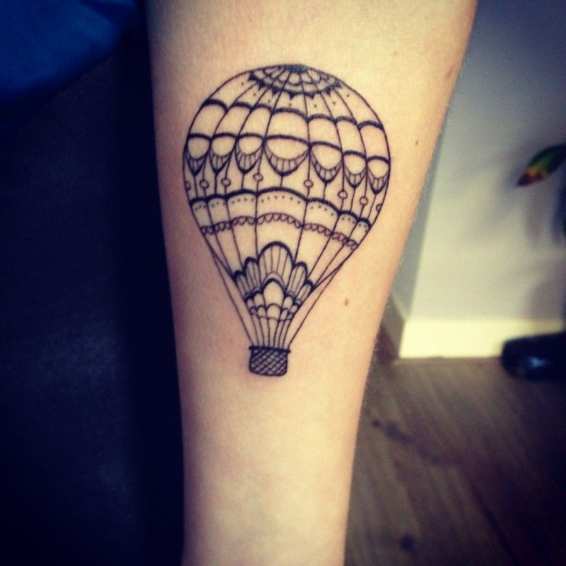 balloon tattoo on pinterest air balloon tattoo traditional ink and