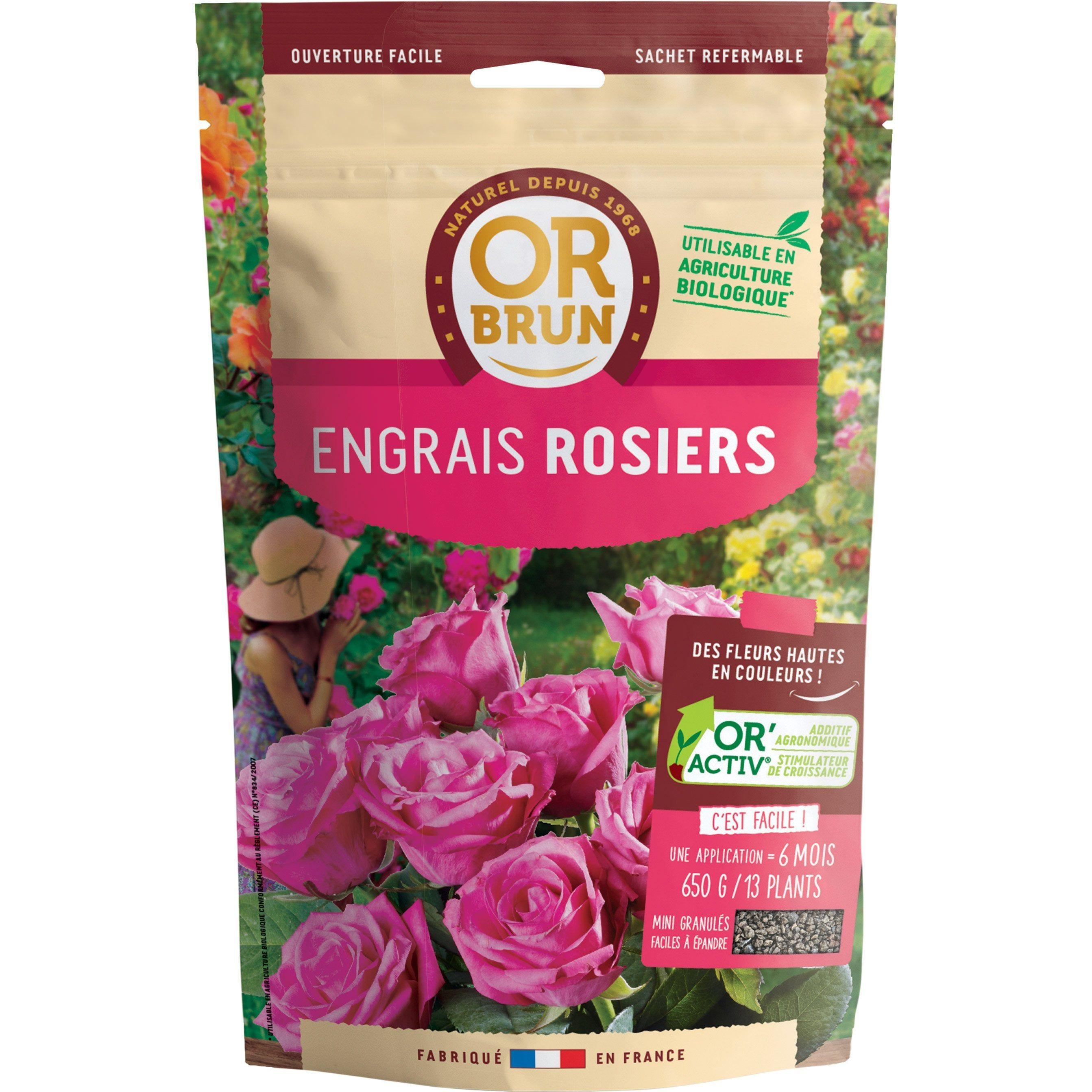 Engrais Rosiers Or Brun 650g 9 M Products En 2019 Engrais