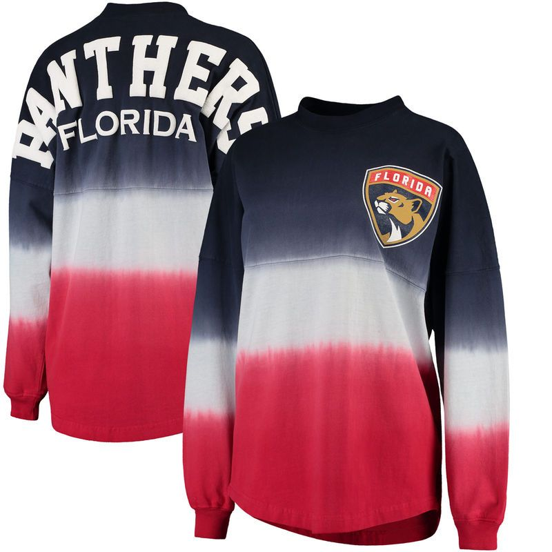huge selection of 6336c 58784 Florida Panthers Fanatics Branded Women's Ombre Spirit ...