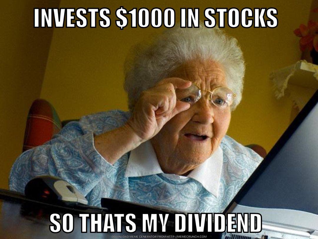 Dividend Grandma Internet Funny Good Night Funny Grandma Memes