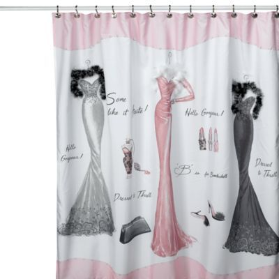 Avanti Dressed To Thrill 70 Inch X 72 Inch Shower Curtain